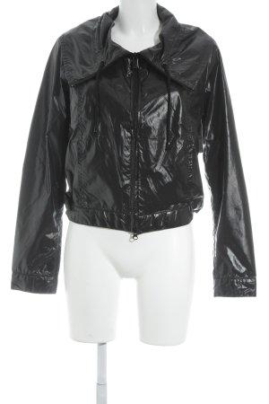 Armani Jeans Imperméable noir style mouillé