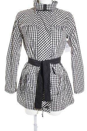 Armani Jeans Regenjacke schwarz-weiß Casual-Look