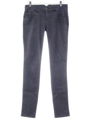 Armani Jeans Röhrenjeans dunkelgrau klassischer Stil