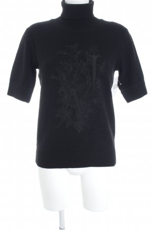 Armani Jeans Coltrui zwart casual uitstraling