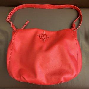 Armani Jeans Shoulder Bag red imitation leather
