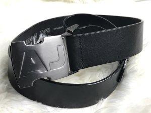 Armani Jeans Cintura di pelle nero