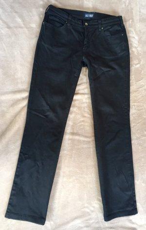 Armani Jeans schwarz Straight-Leg Jeans