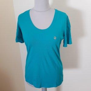 Armani Jeans Shirt türkis Gr. XXL neuwertig