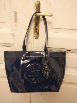 Armani Jeans Handtas donkerblauw