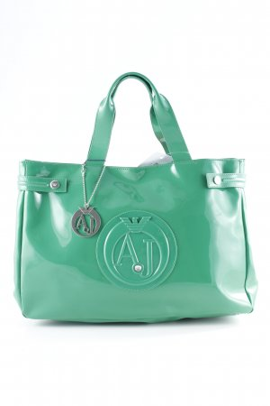 Armani Jeans Shopper grün extravaganter Stil