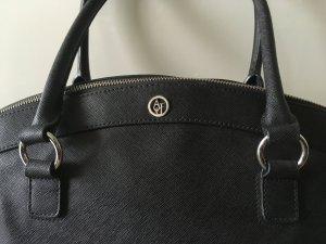 Armani Jeans Borsa shopper nero-argento Finta pelle