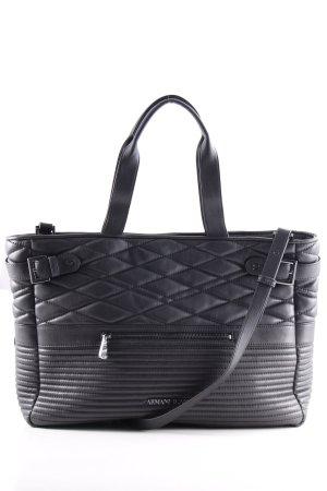 Armani Jeans Shopper noir style décontracté