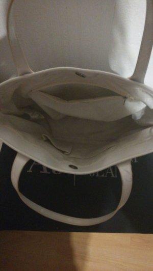 """Armani""""Jeans  Shopping Bag White"""