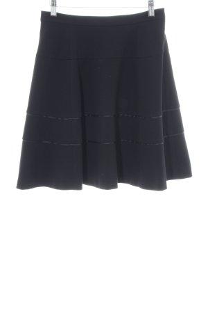 Armani Jeans Skater Skirt black casual look