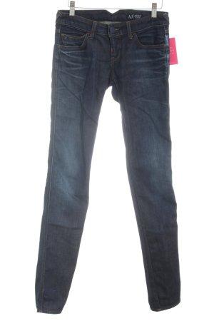 Armani Jeans Skinny Jeans blau Casual-Look