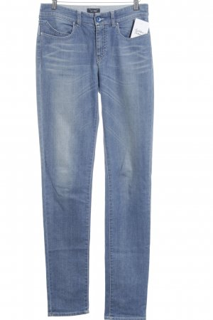 Armani Jeans Skinny Jeans stahlblau schlichter Stil