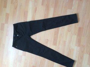 Armani Jeans Slim jeans antraciet-zwart Katoen
