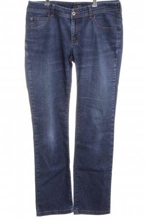 Armani Jeans Slim jeans neon blauw casual uitstraling