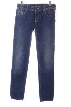 Armani Jeans Slim Jeans dunkelblau Casual-Look