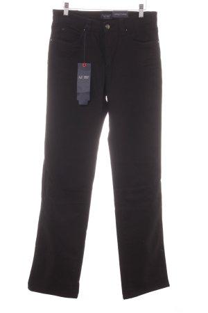Armani Jeans Slim Jeans schwarz Jeans-Optik