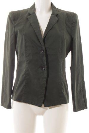 Armani Jeans Smoking-Blazer dunkelgrün Business-Look