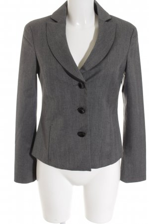 Armani Jeans Smoking-Blazer grau meliert Business-Look