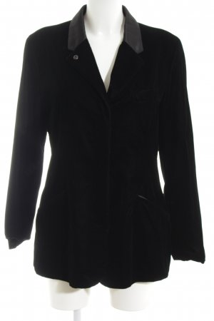 Armani Jeans Smoking-Blazer schwarz Business-Look