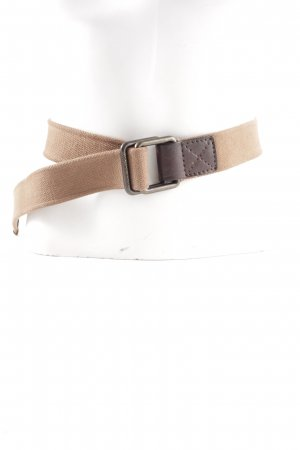 Armani Jeans Fabric Belt nude themed print casual look