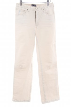 Armani Jeans Jersey Pants cream casual look