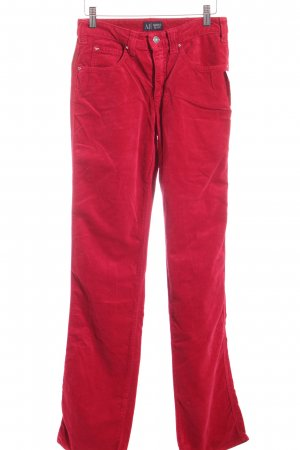 Armani Jeans Stoffhose rot Urban-Look