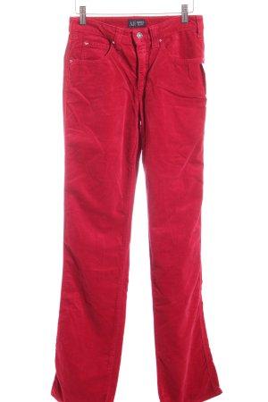 Armani Jeans Stoffhose rot Urban-Look