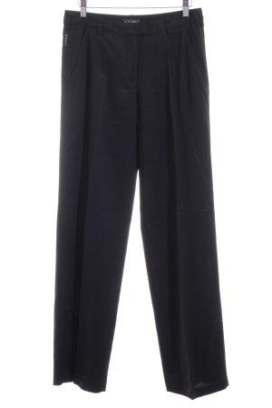 Armani Jeans Stoffen broek zwart zakelijke stijl