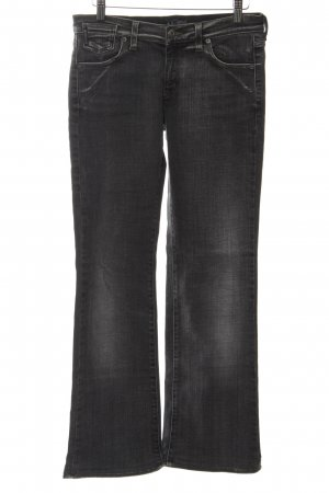 Armani Jeans Straight-Leg Jeans schwarz Casual-Look
