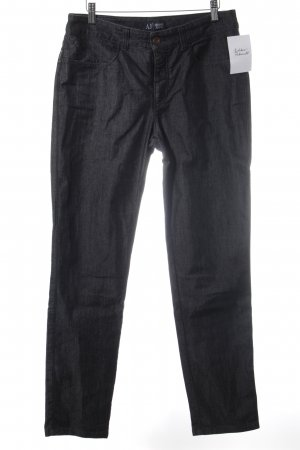 Armani Jeans Straight Leg Jeans anthracite casual look