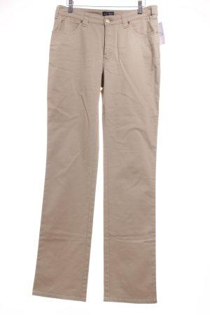 Armani Jeans Straight-Leg Jeans beige schlichter Stil