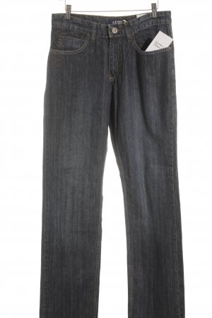 Armani Jeans Straight Leg Jeans blue casual look