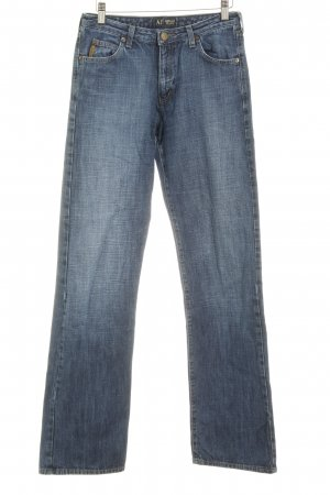 Armani Jeans Straight Leg Jeans dark blue-blue casual look