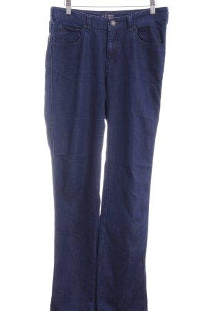 Armani Jeans Straight-Leg Jeans dunkelblau Casual-Look