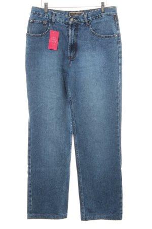 Armani Jeans Straight-Leg Jeans graublau Casual-Look