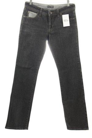 Armani Jeans Jeans coupe-droite noir