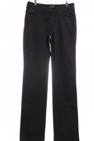 Armani Jeans Straight-Leg Jeans schwarz Casual-Look