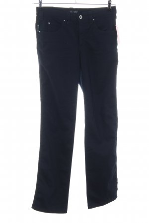 Armani Jeans Stretch Trousers blue casual look