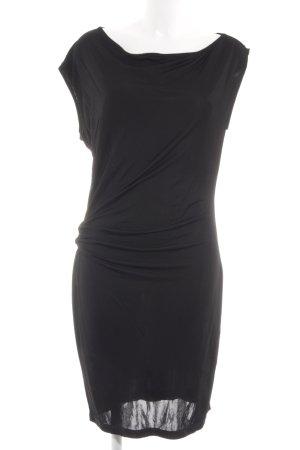 Armani Jeans Vestido elástico negro elegante