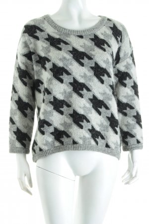 Armani Jeans Strickpullover abstraktes Muster Street-Fashion-Look
