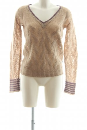 Armani Jeans Knitted Sweater beige casual look