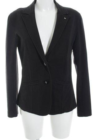 Armani Jeans Sweatblazer schwarz schlichter Stil