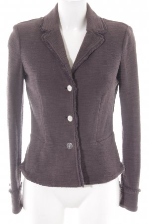 Armani Jeans Sweatblazer taupe Business-Look