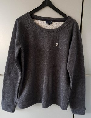 Armani Jeans Sweatshirt Sweater Pullover Grau-silber 40 NP.149€