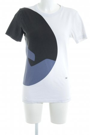 Armani Jeans T-Shirt Colourblocking sportlicher Stil