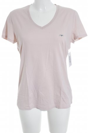 Armani Jeans T-Shirt rosé Casual-Look