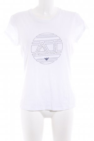 Armani Jeans Camiseta blanco look casual