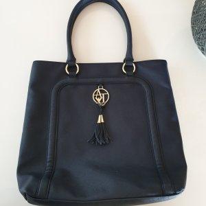Armani Jeans Shopper doré-bleu foncé