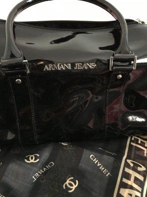 Armani Jeans Tasche aus Lackleder