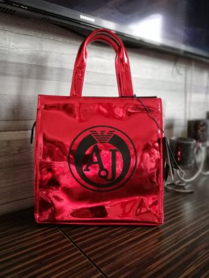 Armani Sac à main rouge